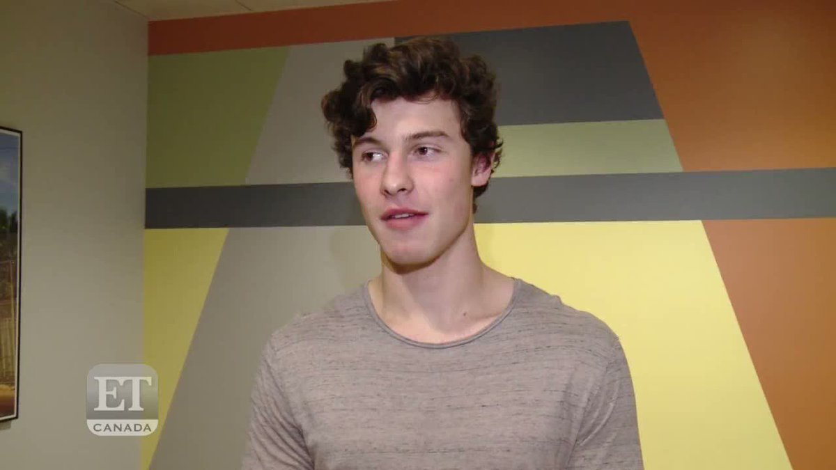 Shawn in an interview with ET Canada yes...