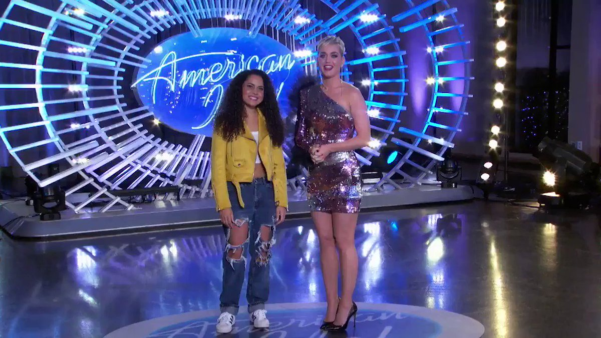The #AmericanIdol journey starts now for Britney Holmes as she auditions during the @AMAs!