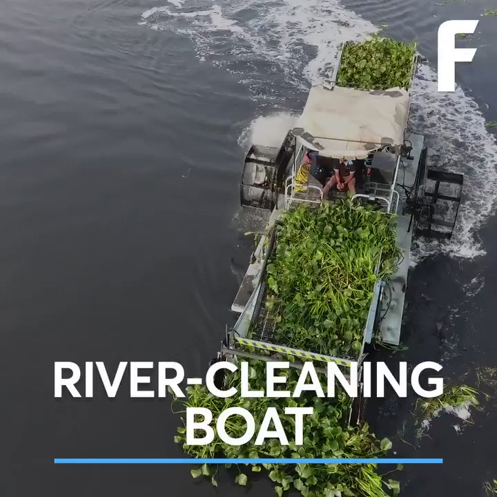 RT @futurism: India's rivers are being cleaned up thanks to boats like this. https://t.co/vRfqXyQspX