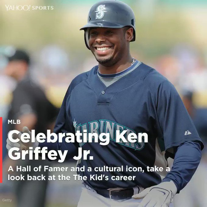YahooSports : The Kid is 48 today. Happy Birthday, Ken Griffey Jr.!  (via message