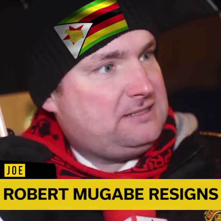 And we go live to Zimbabwe for fan reaction...