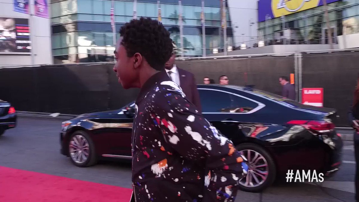 .@calebrmclaughl1 #AMAs arrival on point...