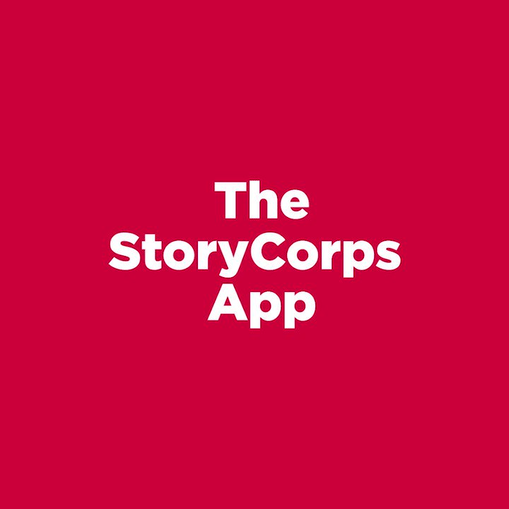 Ingredients for participating in #TheGreatListen: a quiet place, you, someone you love, and the StoryCorps App. 📱 thegreatlisten.org