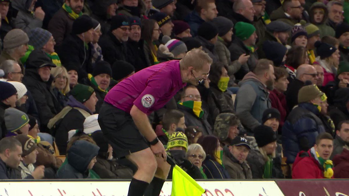 ???? Thanks for stepping in, @spud1902! ???? #ncfc https://t.co/vWe3ir0RjX