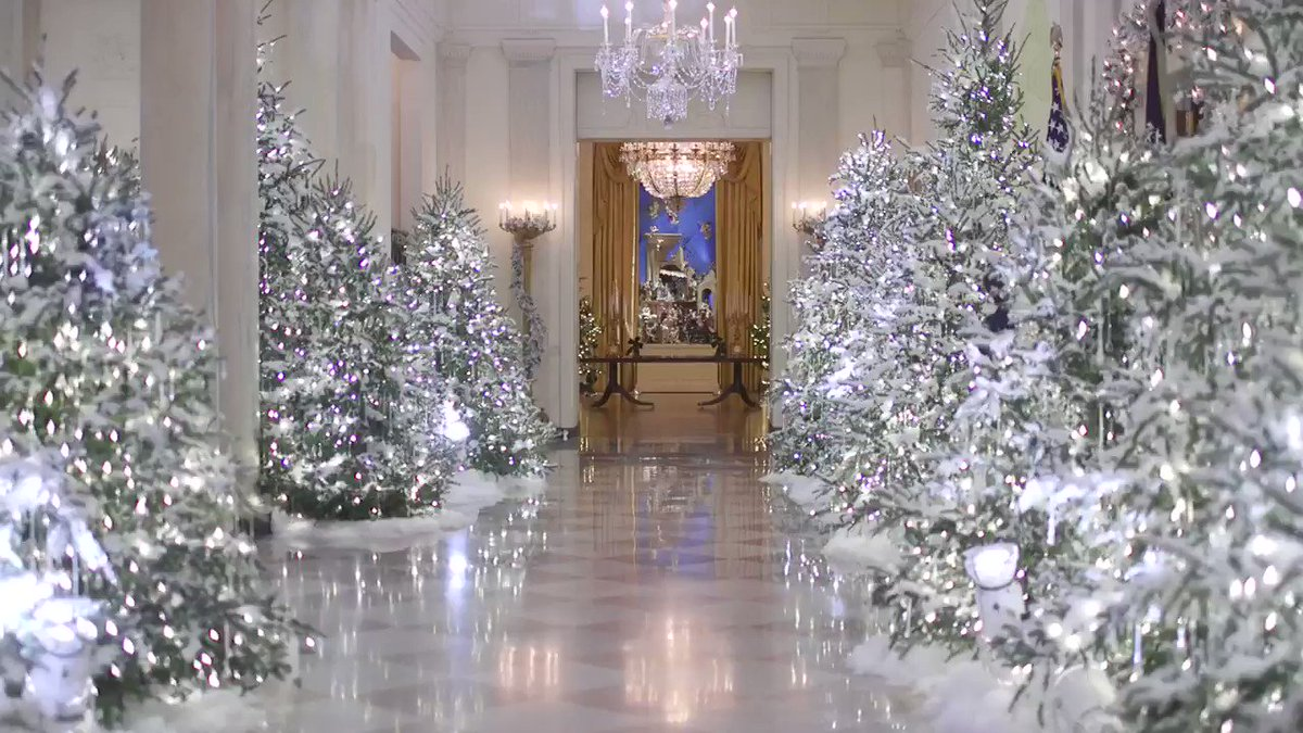 Melania Trump On Twitter The Decorations Are Up Whitehouse Is