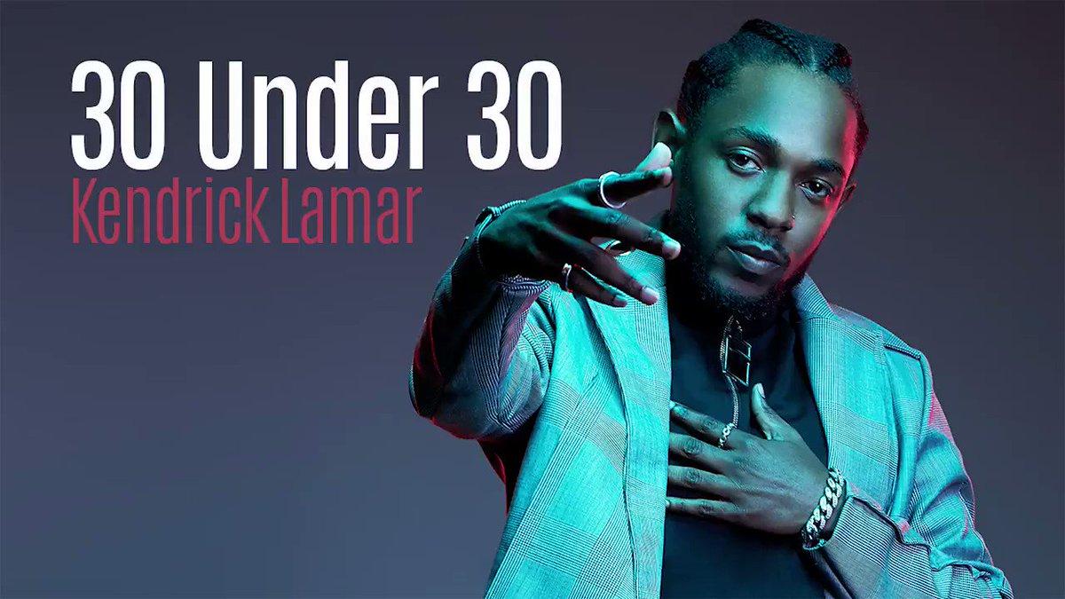 #30Under30 alum Kendrick Lamar has 7 Gra...