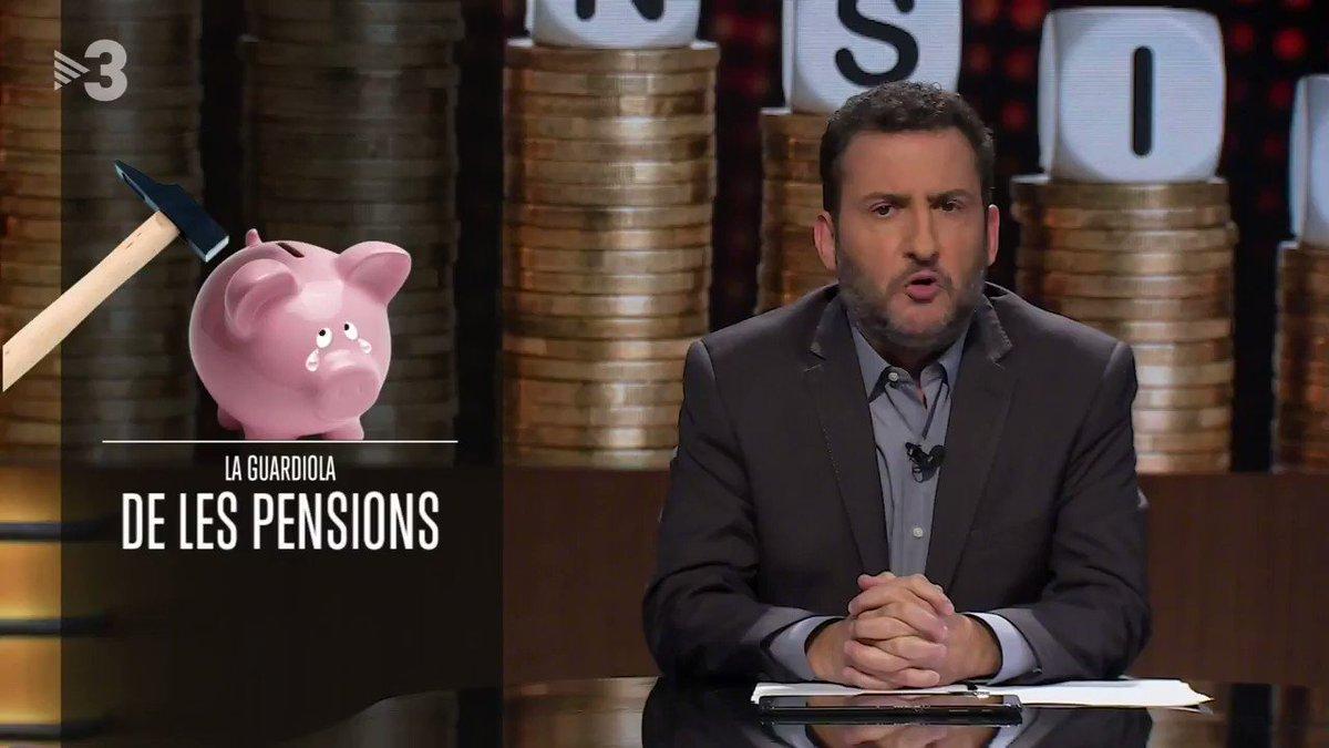 Calma, el tema de les pensions està controlat. #EstàPassantTV3 > tv3.cat/estapassant