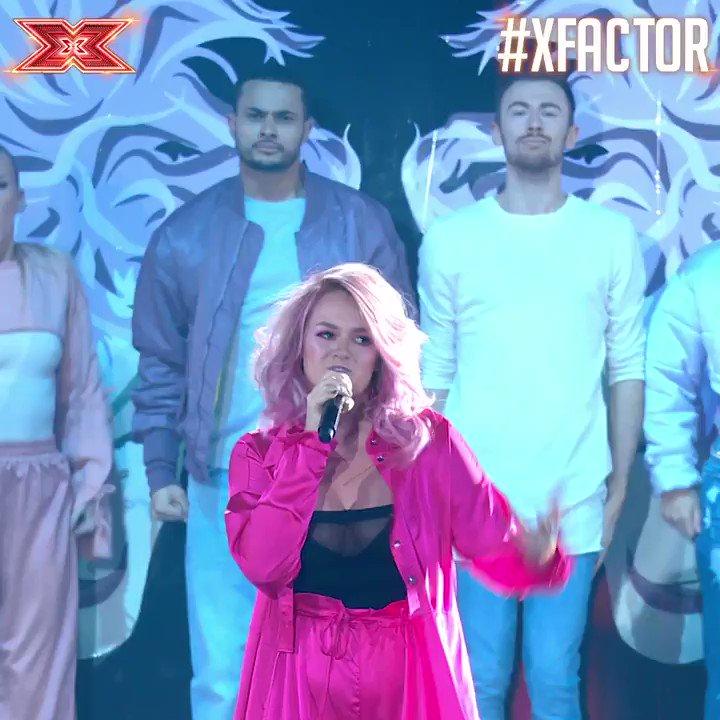 .@gracedavies we've got Nothing But LOVE for that performance! Go on queen! ❤️👏❤️ #XFactor #XFactorFinal https://t.co/sEEdhtqDl7