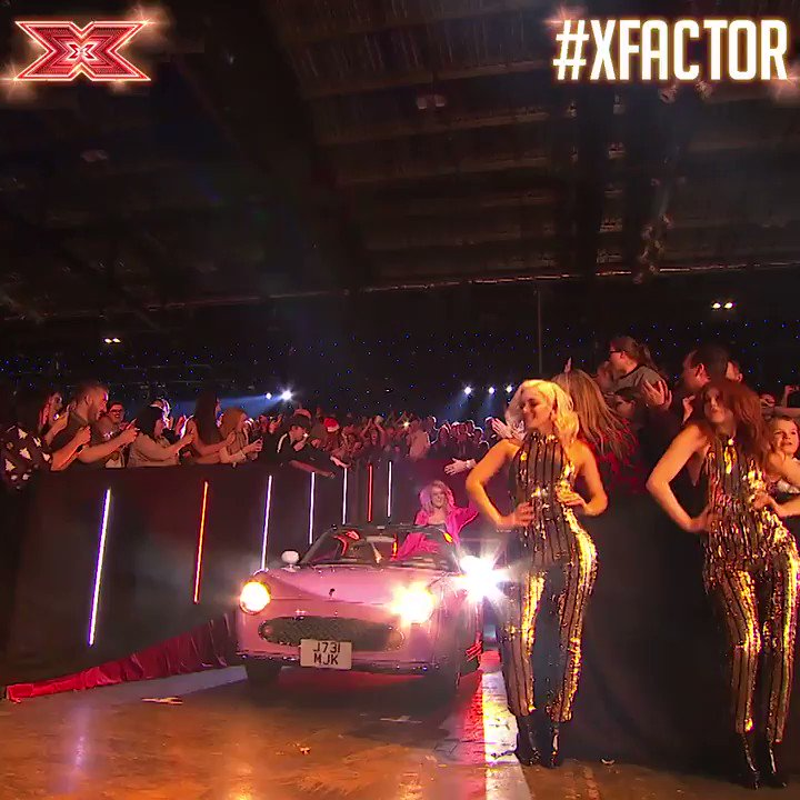 Driving your way into Monday like... 🚗🚗🚗 #XFactor https://t.co/48MrAICfci