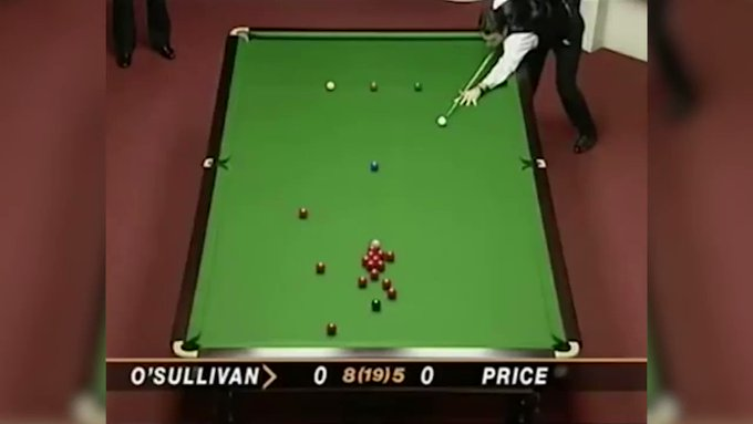 Happy birthday to the legend that is Ronnie O\Sullivan  Here\s his first ever 147 break!  R O C K E T