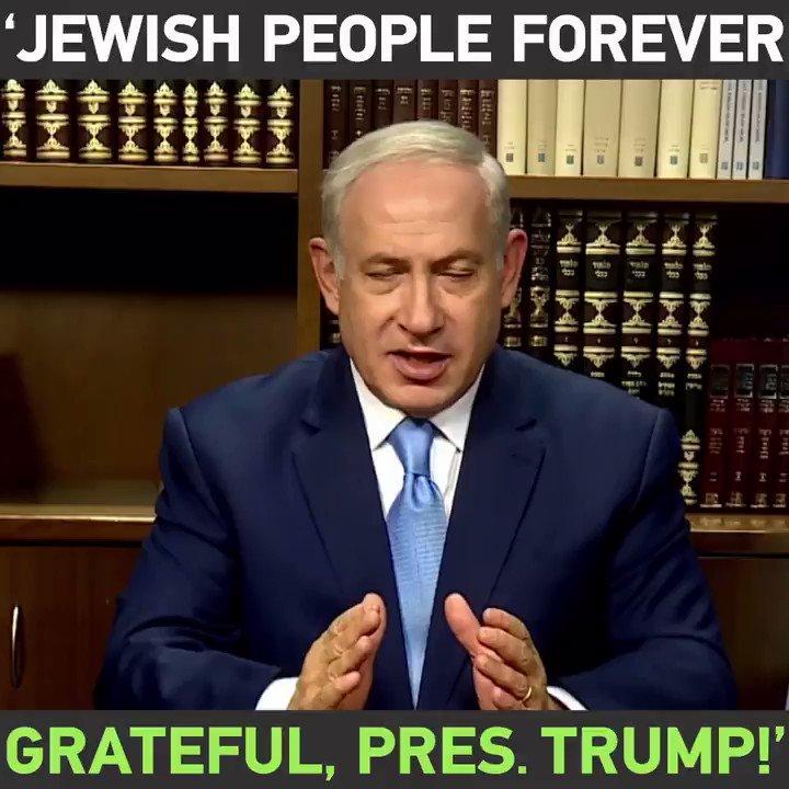 #Israeli Prime Minister Benjanin #Netanyahu calls #Trump's #Jerusalem decision a 'historic day' https://t.co/UOiKf14q1D