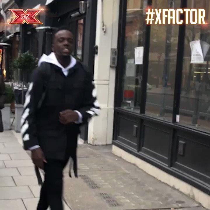 Walking out of work on a Friday like @AshleyRaksu @Mustafa_Raksu... #Friyay #XFactor https://t.co/AcvKTo2GW9