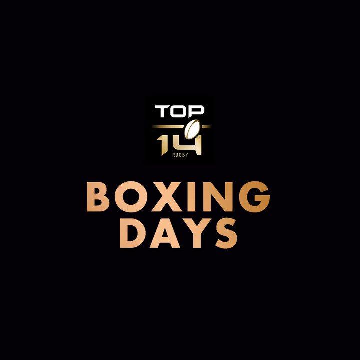 #BoxingDaysRugby 🎵 Attention à vos oreil...