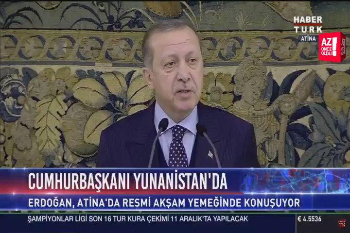 Cumhurbaşkanı @RT_Erdogan: 'Geçmişten de...