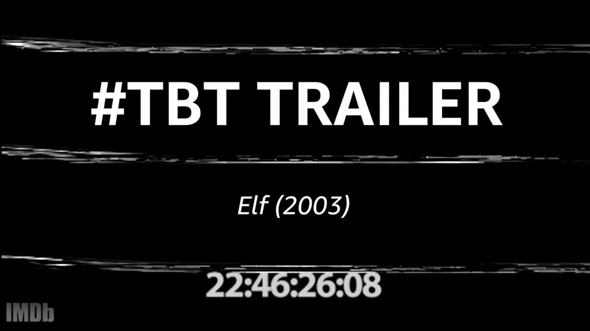 Buddy the #Elf, what's your favorite color? 🎄 #TBTTrailer https://t.co/kupxXltrLA