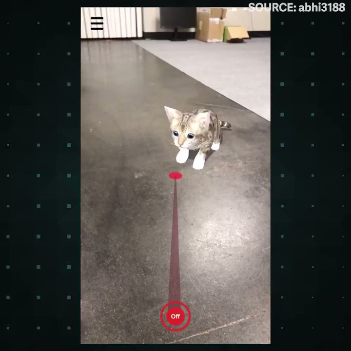 This game lets you tease a virtual kitten with a laser