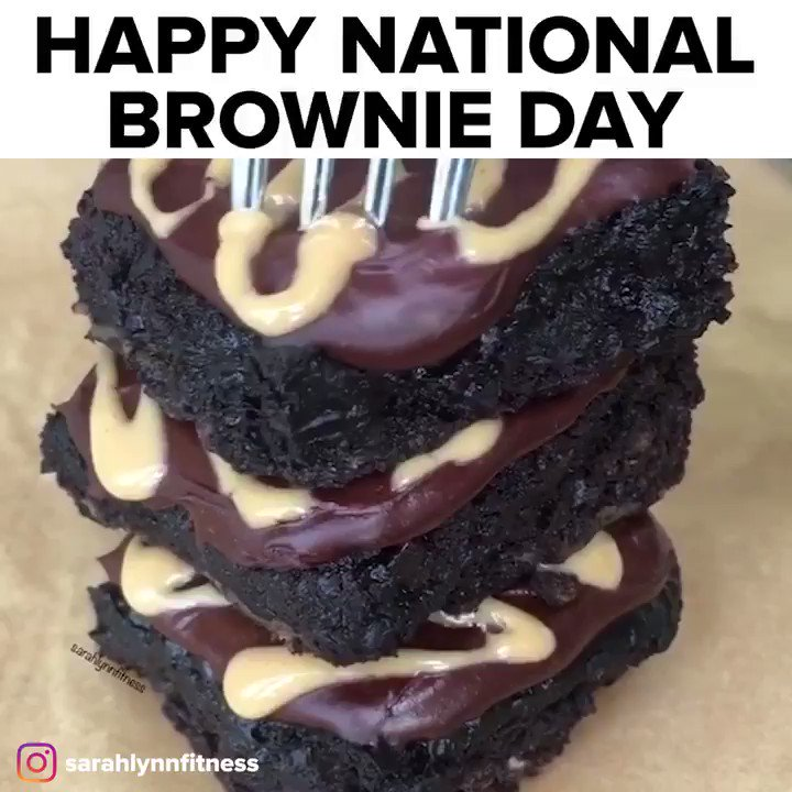 RT @tasty: Happy National Brownie Day 🎉 https://t.co/ZR7CV2zOVl
