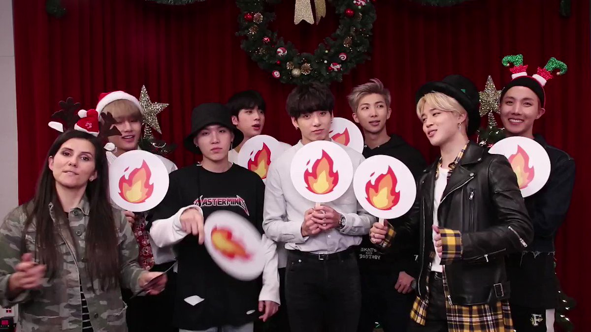 Watch #BTS play Holiday Hot or Not with...