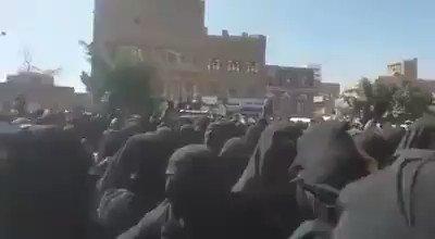 صنعاء الانتفاضة مستمرة.. .  مسيرة نسائية...
