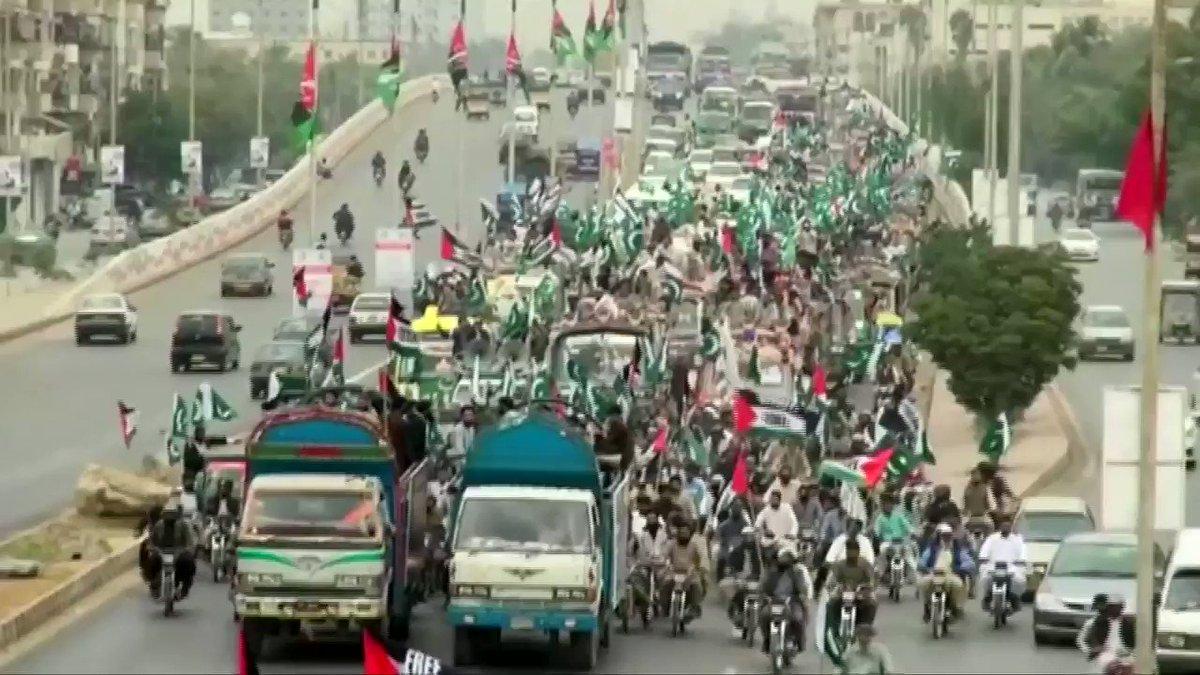 #Pakistan continues protesting #Trump's...