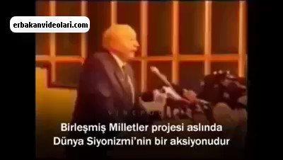 RT @Erbakan1926: Erbakan Hoca Birleşmiş Milletleri anlatıyor https://t.co/jaGk1rKPTo