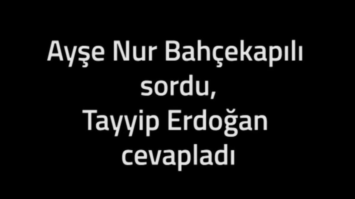 RT @HDPgenelmerkezi: Erdoğan, Ayşe Nur Bahçekapılı'nın 'Kürdistan neresi?' sorusunu yanıtladı. https://t.co/tRZO06vo5u