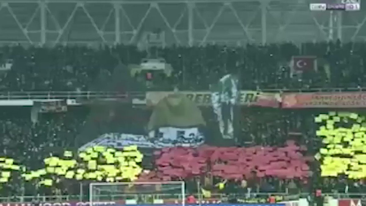 Malatyaspor-Galatasaray karşılaşmasında...