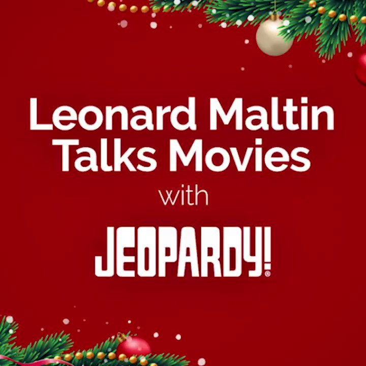 jeopardy on twitter need christmas movie recommendations look no further than leonardmaltin weasked - Christmas Jeopardy