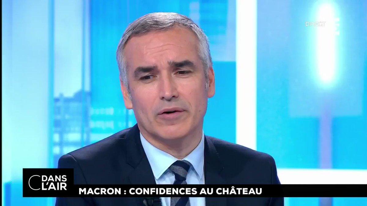 """#Macron20HWE : """"Sur l'#écologie, Emmanuel #Macron a été très précis et sur le #nucléaire il a mis les choses au point. On sait un peu mieux pourquoi Nicolas #Hulot a dû avaler quelques couleuvres sur ce dossier"""". @JeudyBruno #cdanslair"""