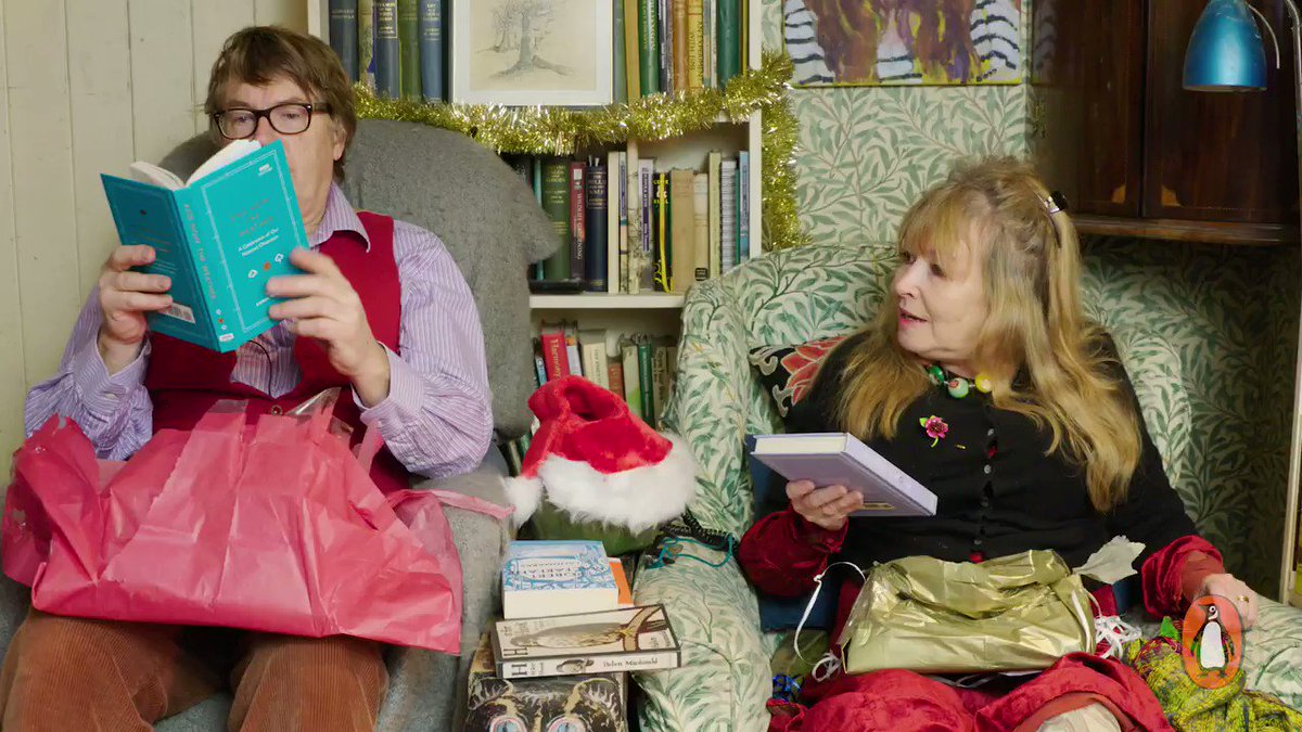 See which books are at the top of #gogglebox's giles and mary's