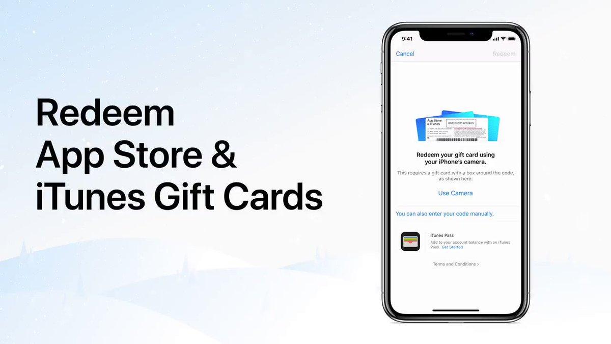 redeem app store gift card