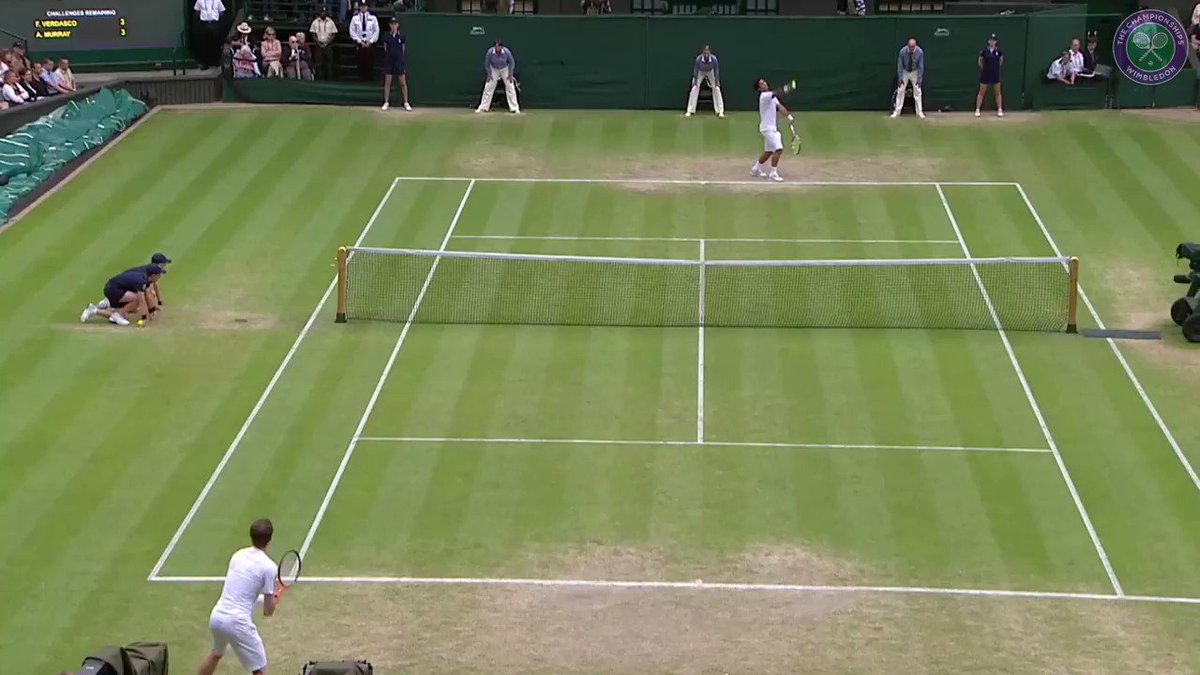 Andy Murray vs Fernando Verdasco at a Grand Slam? That takes us back... #Wimbledon #USOpen