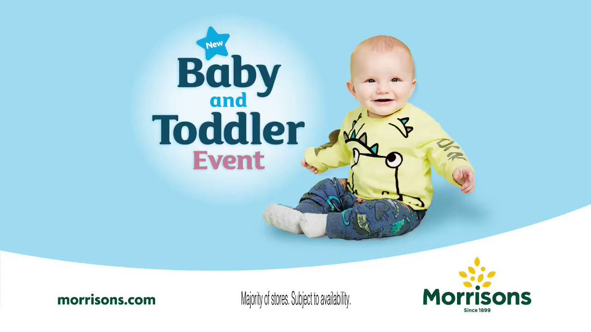 Morrisons On Twitter Quot Check Out Our Baby And Toddler