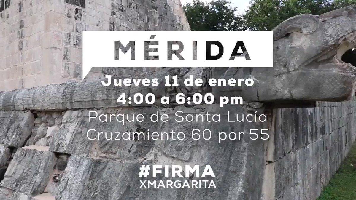 Mañana nos vemos en Mérida para seguir j...