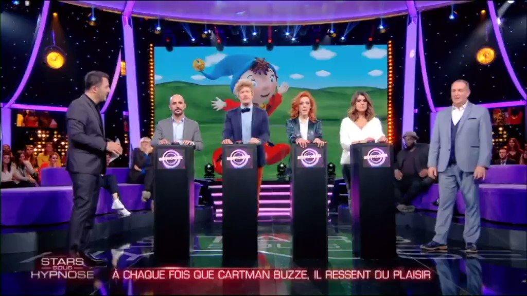 RT @SSH_TF1: La jouissance pure 😂😂 #StarsSousHypnose @Cartmanofficiel https://t.co/F8EanHKoIV