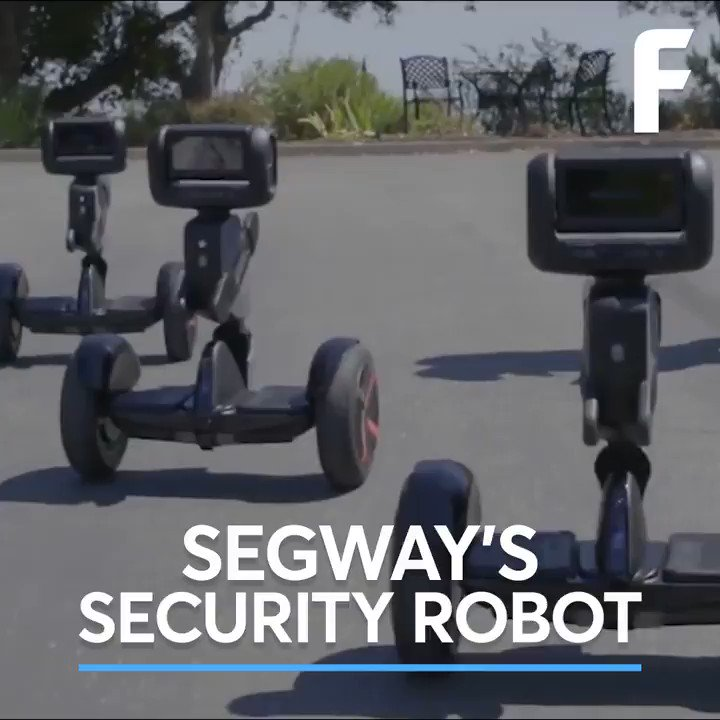The makers of Segway have created an autonomous security robot.
