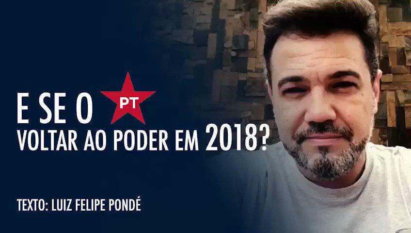 RT @marcofeliciano: E SE O PT VOLTAR AO PODER EM 2018? https://t.co/QvEnnaTM8v