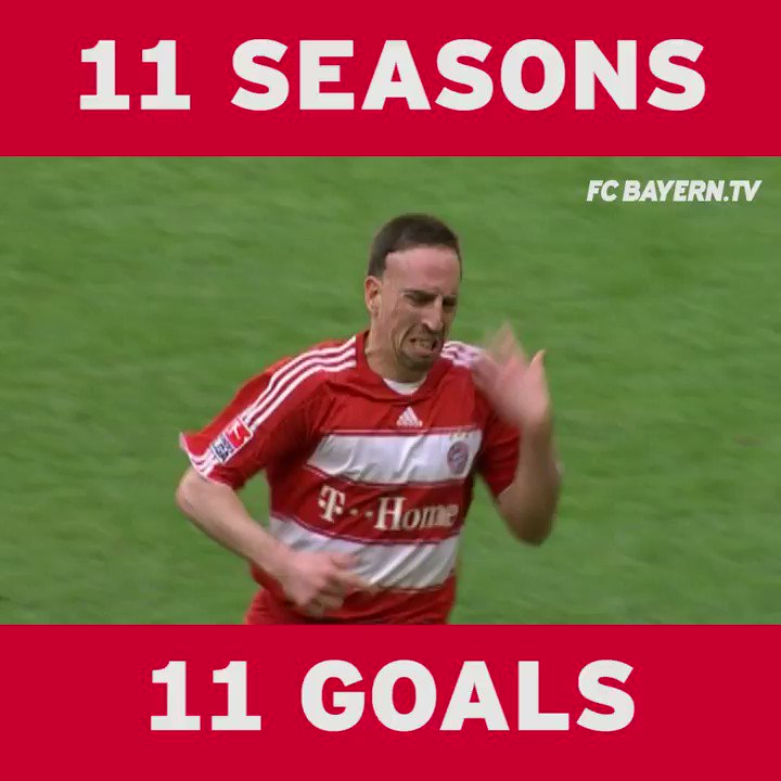 11 brilliant seasons, 11 beautiful goals...