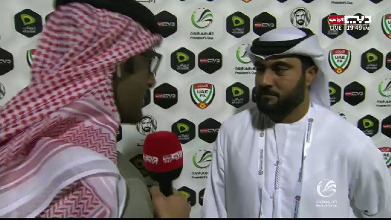 RT @dubaisportstv: تصريح محمد ابراهيم مدير فريق #النصر قبل مواجهة #دبا #المنصة #كأس_رئيس_الدولة https://t.co/Zs5oSP5j31