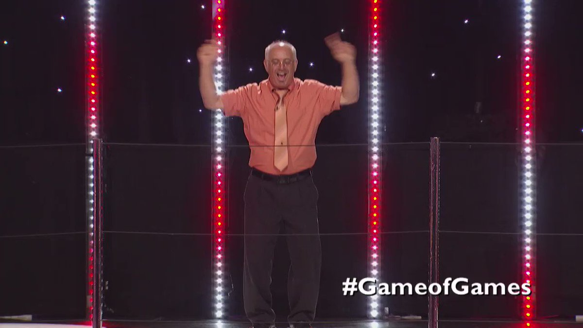 On this hump day, Bill has something to dance about. Great job last night. #GameofGames https://t.co/6hkLZemEIC