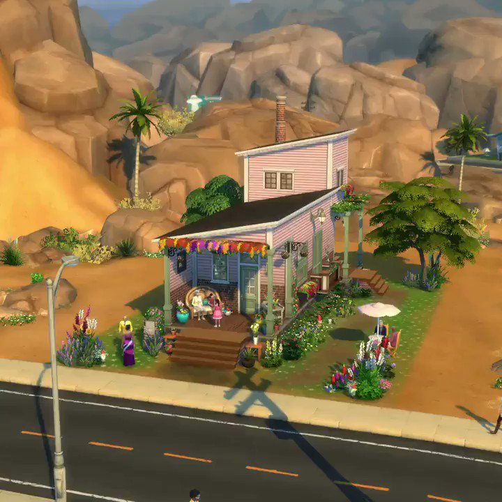 RT @TheSims: We love this home by Cyndi0826! Find it in the Gallery. #ShowUsYourBuilds https://t.co/cdWzgt7j0i