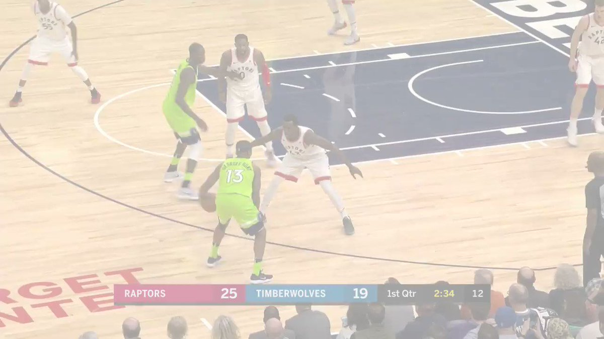 Andrew Wiggins drops 29 for the @Timberwolves, including a pair of filthy jams! #AllEyesNorth https://t.co/ZljZCMIPbl