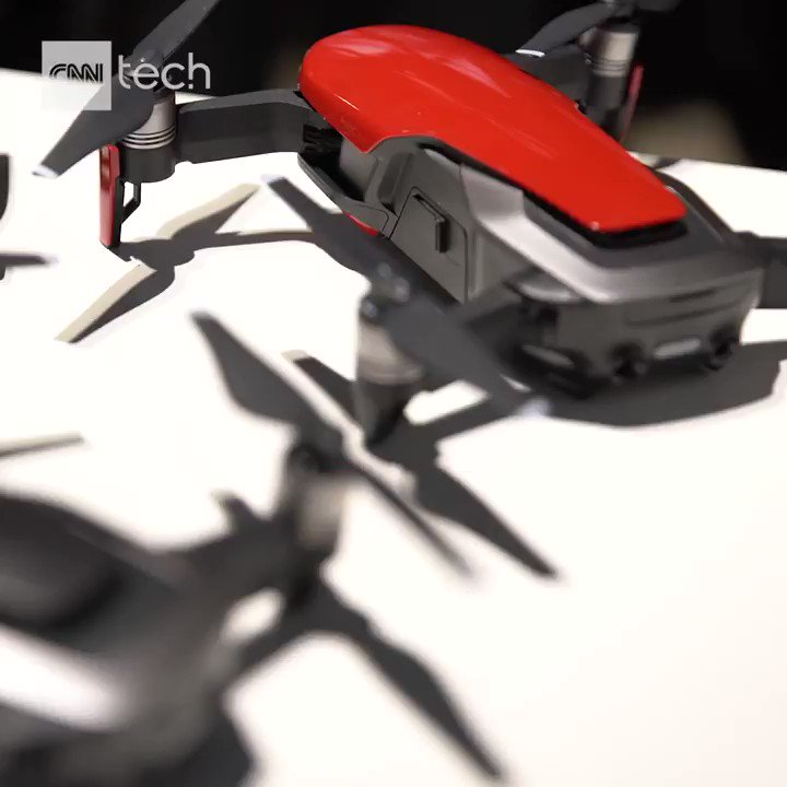 This foldable drone fits in the palm of your hand and shoots 4K video: