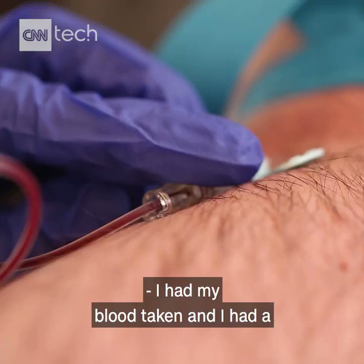 This guy makes cryptocurrency from his own blood. Yep, you read that right.