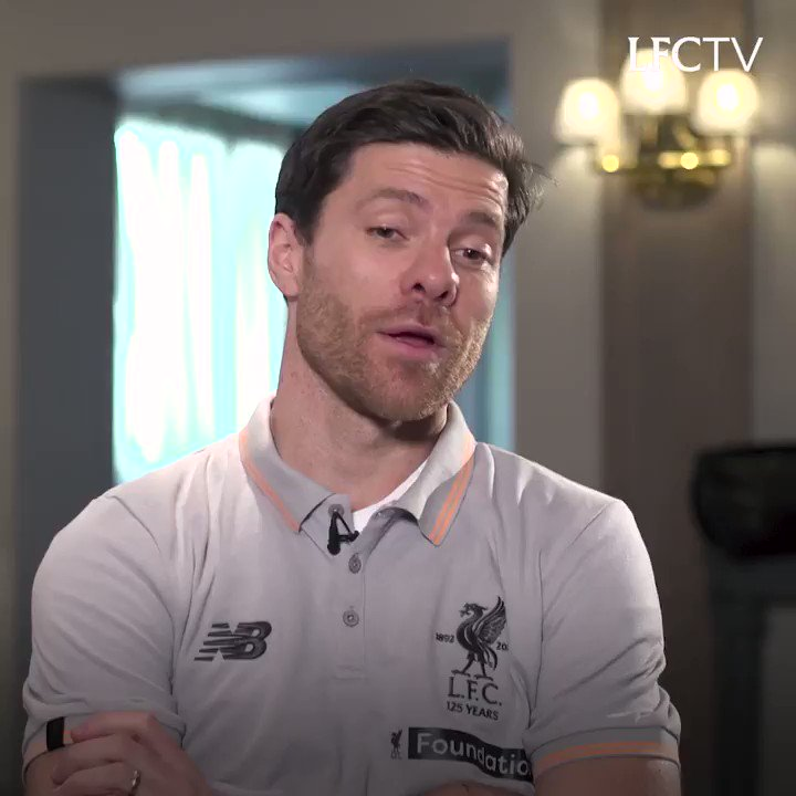 """""""It's going to be special for many reasons. First one, to be back at Anfield"""" 💫  Who can't wait to see @XabiAlonso at the #LFC Legends Match?! 😎  👉 http://bit.ly/1nMZ4fg"""