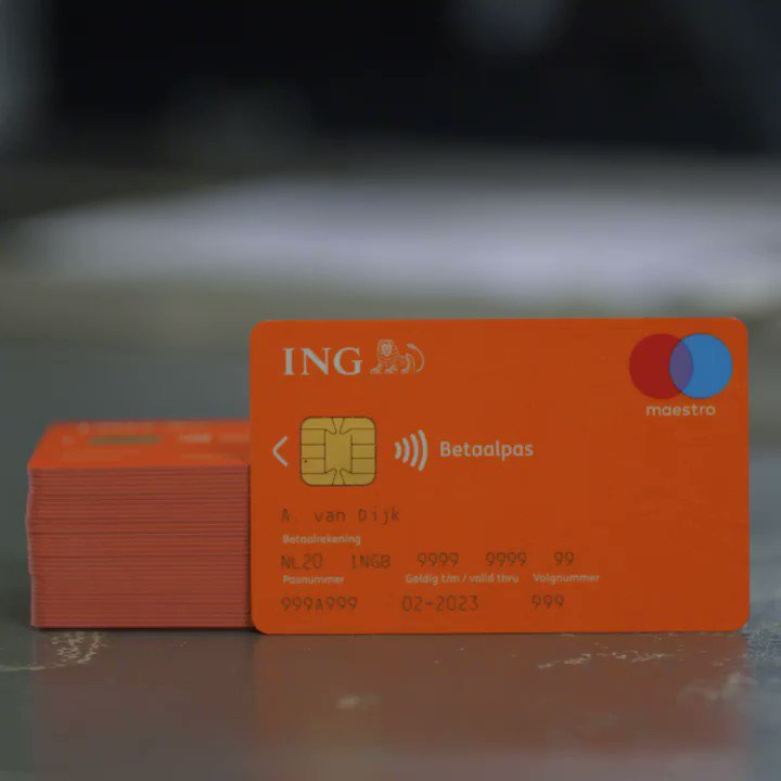 We've introduced new bank cards in the N...