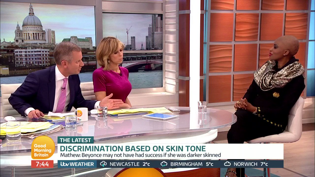 RT @GMB: Colourism: Former model Irene Major says her decision to lighten her skin is a 'personal choice'. https://t.co/2zfKwVlvSN
