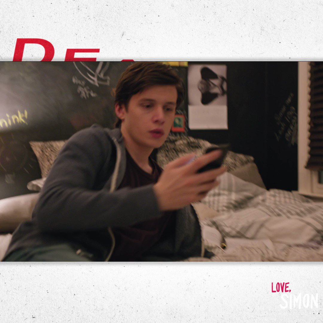 A love story that is romantic AF ❤️ ❤️. See Nick Robinson in #LOVESIMON in theaters March 16.