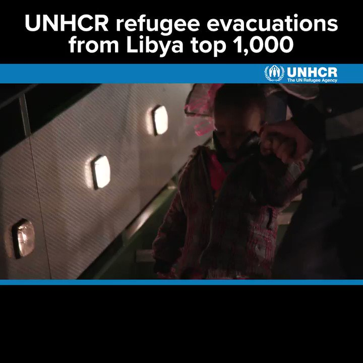 -Single mothers -Families -Unaccompanied and separated children Weve evacuated 1,000 highly vulnerable refugees out of detention in Libya: trib.al/nuwS3u2