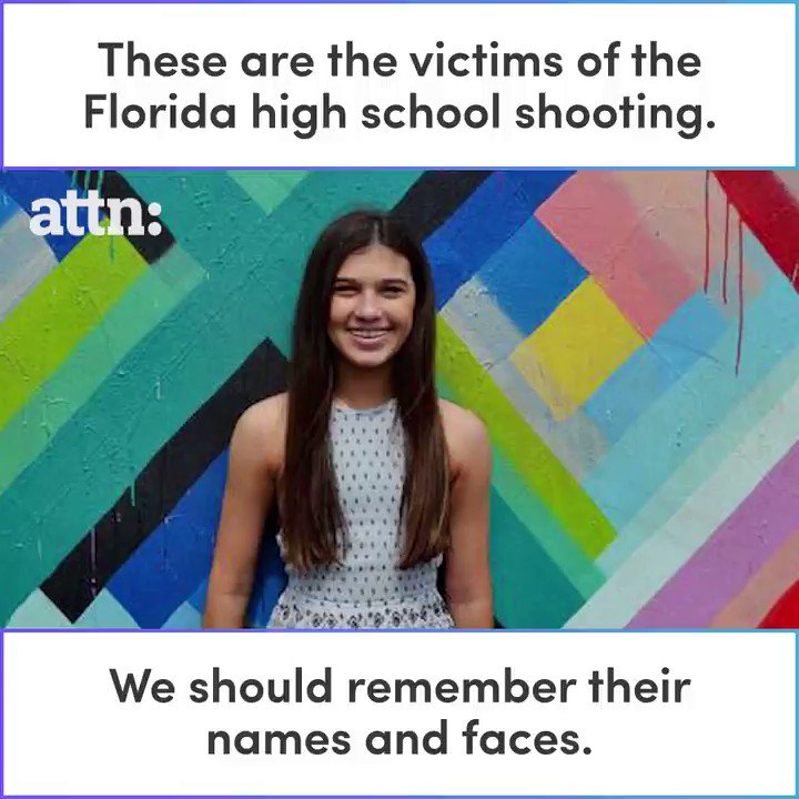 These are the victims of the Florida hig...